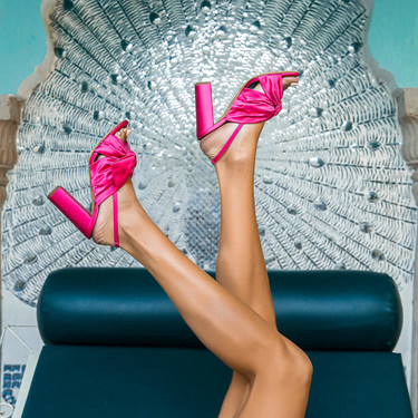 25 sandalias de tacón ancho para lucir todo el verano