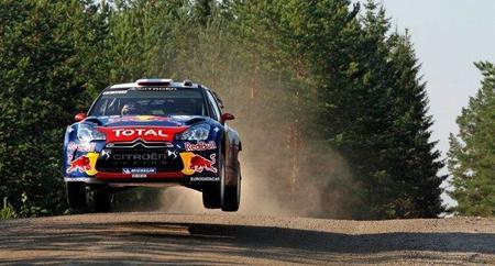 Rally de Finlandia 2011: Sébastien Loeb destaca en el shakedown