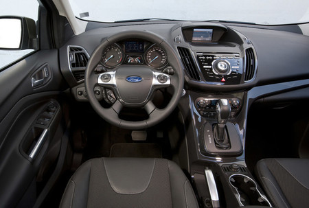 Ford Kuga 2013 vista interior