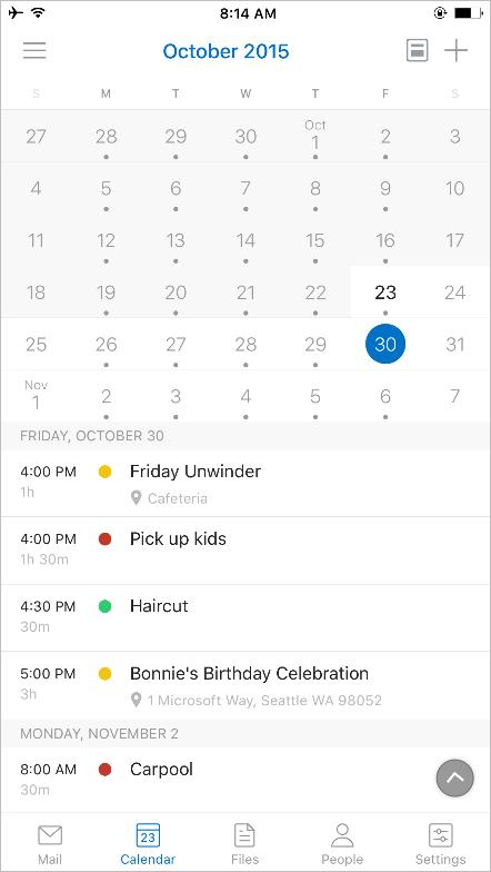 Outlook para iOS