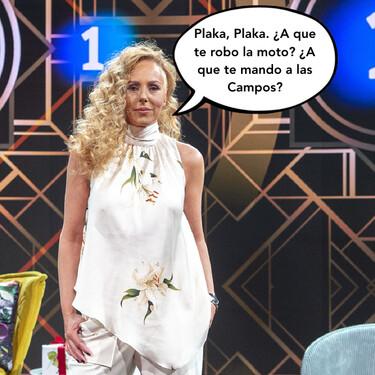"""Rocío Carrasco vuelve a su zona de confort, el mundo NINI: """"¡A presionar a Antonio David para que pague ya los 80.000 euritos de las narices, porque puedo!"""""""
