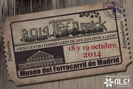 ALE! organiza TRENBrick para celebrar el 30 aniversario del Museo del Ferrocarril de Madrid