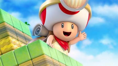 Toad cuenta con un ataque giratorio en Captain Toad: Treasure Tracker
