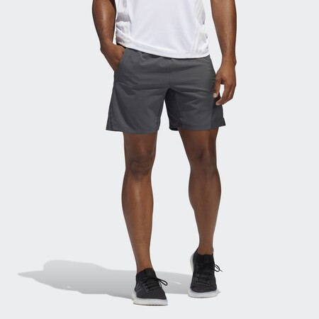Pantalon Corto Aeroready 8 Inch 3 Bandas Gris Fp7846 21 Model