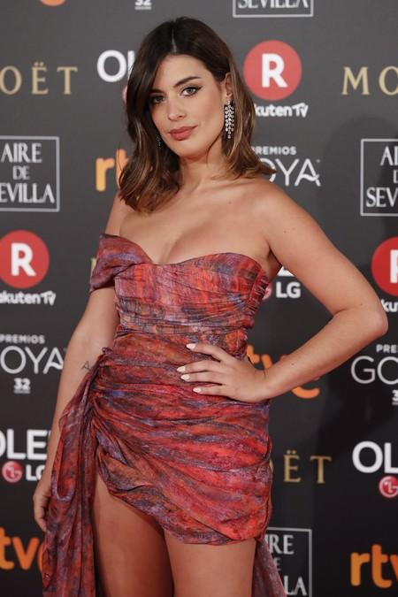 Goyas 2018: Dulceida se estrena en la alfombra roja con un gran look