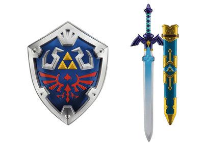 ¡Atención Fans de Zelda! Ya pueden pre-ordenar las réplicas oficiales de la Master Sword y el  Hylian Shield