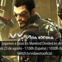Jugamos en directo a Deus Ex: Mankind Divided a las 17:00h (las 10:00h en Ciudad de México) (finalizado)