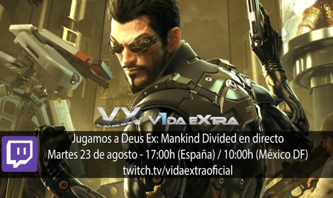 Deus Ex Mankind Divided Directo