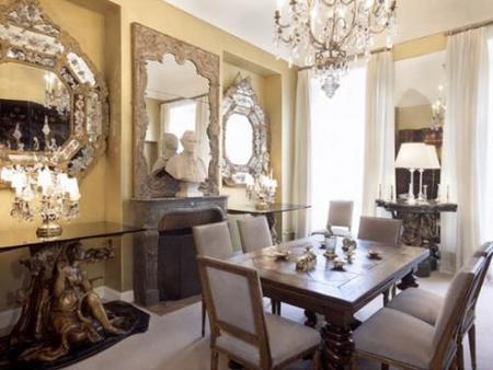 Una vista del apartamento de Chanel.