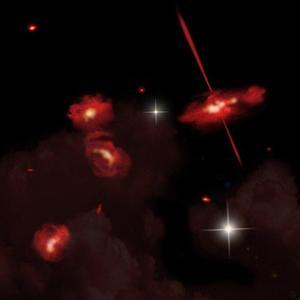 Se descubre un nuevo tipo de galaxias 'rojas'
