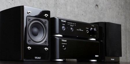 TEAC LShw01 con amplificador