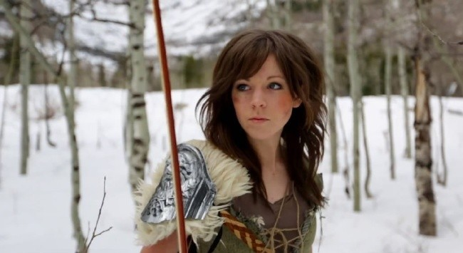 lindsey-stirling skyrim