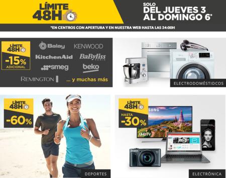 """Regresa """"Límite 48 horas"""" a El Corte Inglés hasta el domingo 6 de agosto"""
