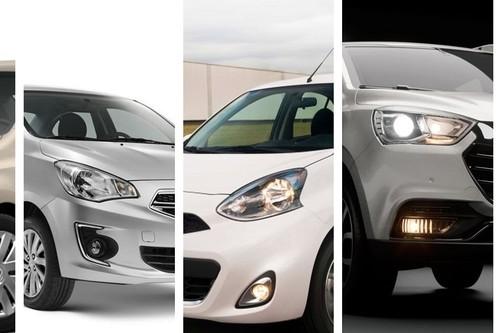 Los 12 coches automáticos más baratos de México