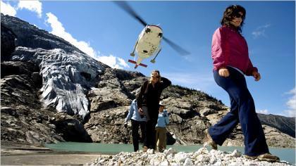 Heli-Hiking: Travesías de alta montaña en helicóptero