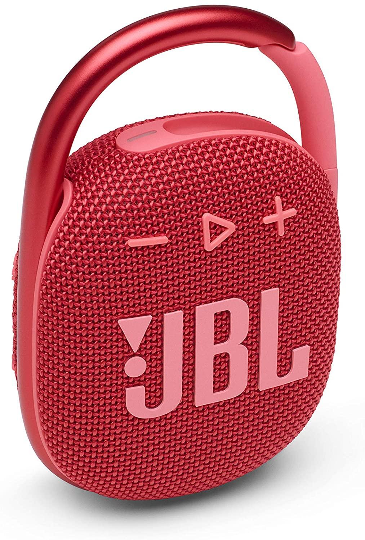 JBL Clip 4 - Bocina portátil Bluetooth - Rojo