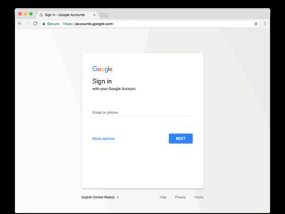 No te asustes si tu página de inicio de sesión de Google se ve diferente, es solo un cambio de diseño