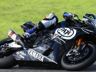 Final de trabajo para el equipo Kawasaki y Yamaha de Superbike