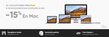 Ofertas en Mac y iPad en Fnac: hasta un 15% de desucuento y ventajas para socios