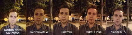Selfie Noche Xiaomi