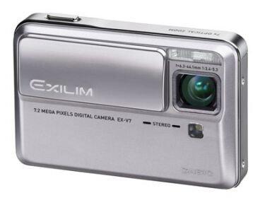 [CES 2007] Casio Exilim EX-V7