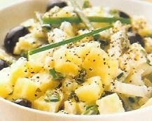 Ensalada de patatas al cebollino
