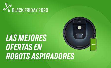 Las mejores ofertas de la semana del Black Friday en robots aspiradores: Conga, Roomba, Roborock, Xiaomi, Dyson y más
