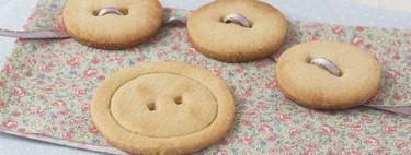 Galletas botón, la receta más divertida para preparar con los más pequeños