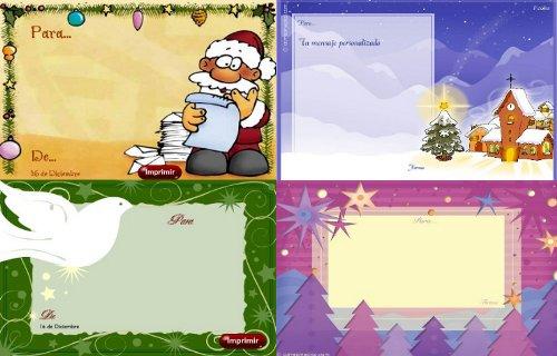 trajetas de navidad