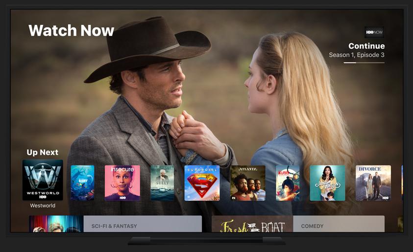 Apple lanzaría su catálogo de series en abril, con HBO y otros servicios como complemento según la CNBC