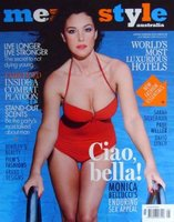 Monica Bellucci en portada... ¿con qué se lava la cara esta mujer?