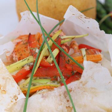 Cómo cocinar verduras en papillote, la forma más fácil, saludable y deliciosa de disfrutar de todo su sabor sin resecarlas