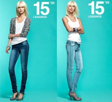 Blanco, vaqueros para el hombre y la mujer esta Primavera-Verano 2010, jeans
