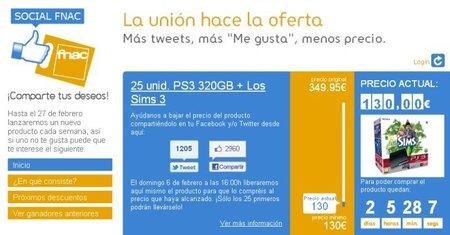"""Fnac se pone las pilas y ya tiene rebajas """"sociales"""" gracias a Twitter y Facebook"""