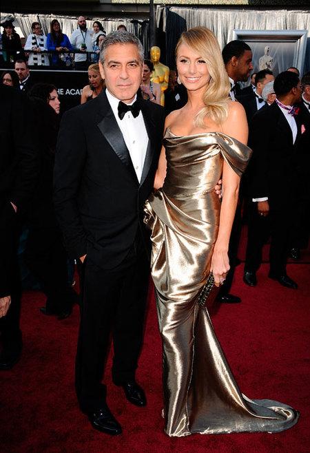 George Clooney en los Oscars 2012
