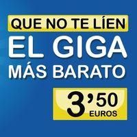 Suop se hace con el giga más barato, rebajándolo hasta los 3,5 euros