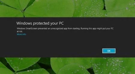 Microsoft sabrá qué programas instalas en Windows 8 mediante SmartScreen, aunque podremos desactivarlo