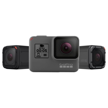 Hero 5 Black y Hero 5 Session, las nuevas action cameras de GoPro