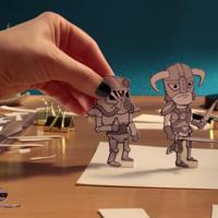 Bethesda recurre a sus héroes y la papiroflexia para poner fecha y hora a su conferencia del E3 2018