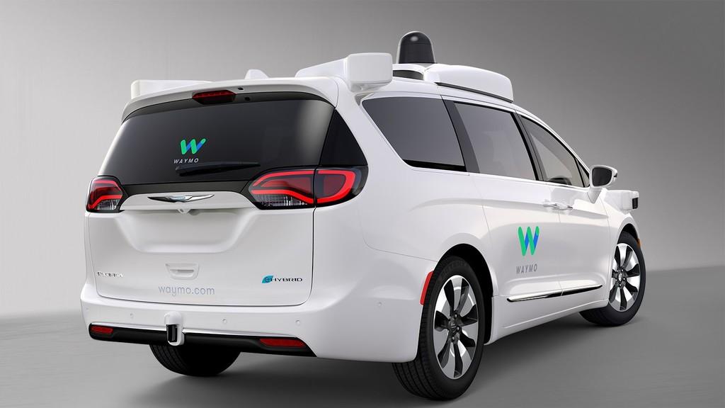 Waymo Fca Fully Self Driving Chrysler(automóvil) Pacifica Hybrid 4
