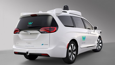 Waymo Fca Fully Self Driving Chrysler Pacifica Hybrid 4