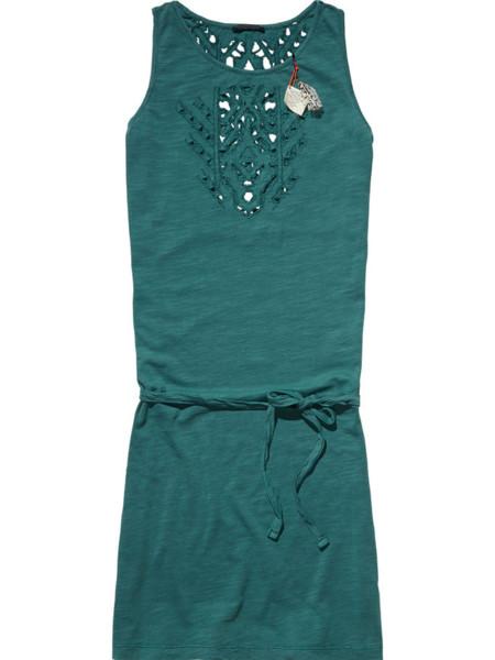 Scotch Vestido verde