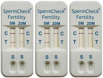 SpermCheck Fertility, test de fertilidad casero para ellos