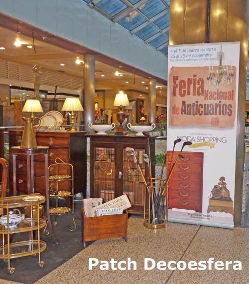 Visita a la feria nacional de anticuarios for Feria decoracion madrid