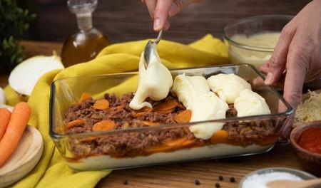 Pastel Carne Pasoapaso