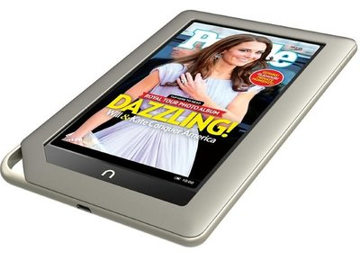 Barnes & Noble lanza Nook Tablet, competencia directa para Amazon Kindle Fire