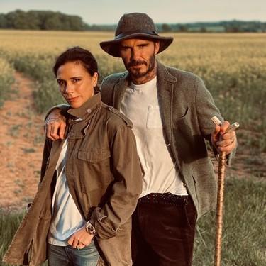 Los Beckham se marcan un Puente Viejo. ¿Por lo que les dura el matrimonio? No, por lo del secreto...