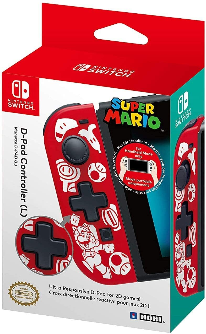 Hori Nintendo Switch D-Pad Controller  Super Mario Edition