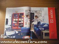 Catálogo de Ikea 2008: Lo mejor de Ikea para las salas de estar