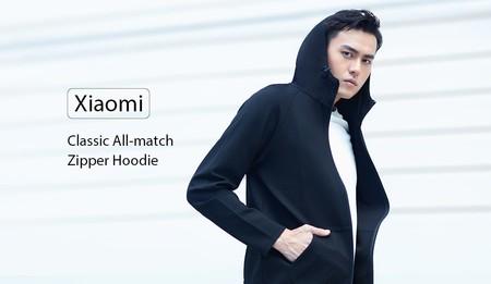 Cupón de descuento: sudadera con capucha Xiaomi Classic All-match por 21,25 euros y envío gratis